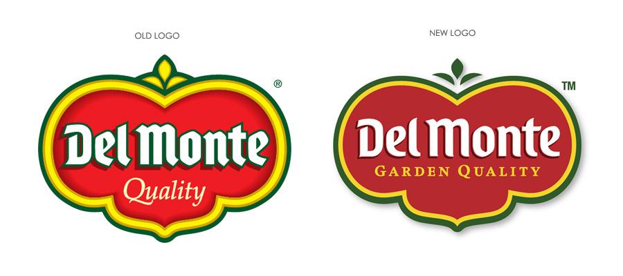 delmonte - logo restyling