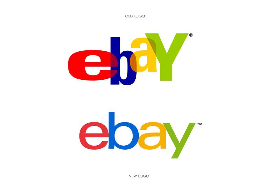 ebay- logo restyling