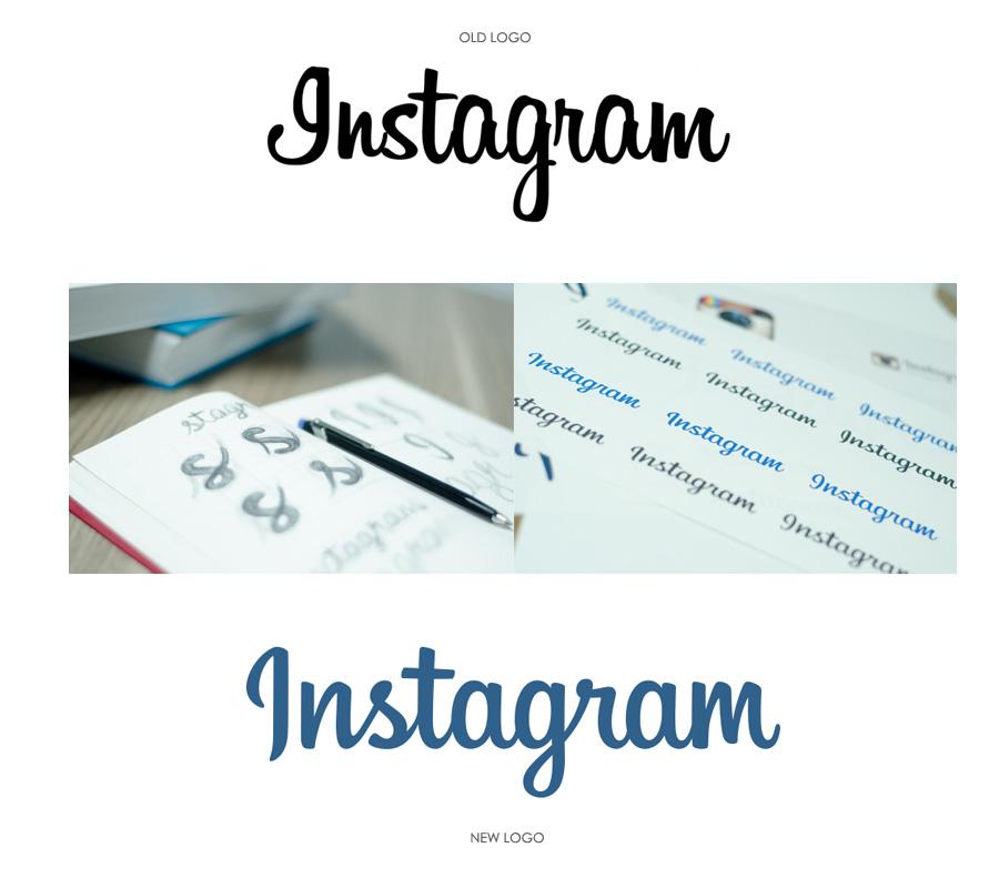 instagram - logo restyling