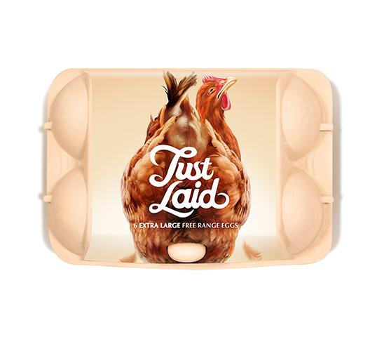 creative packaging - uova fresche