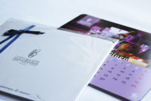 Packaging Calendario / mouse pad