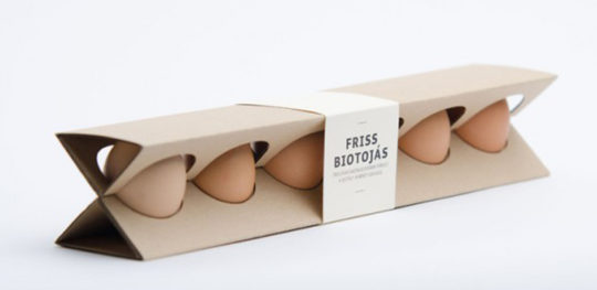 Packaging alimentare uove (friss biotojas)