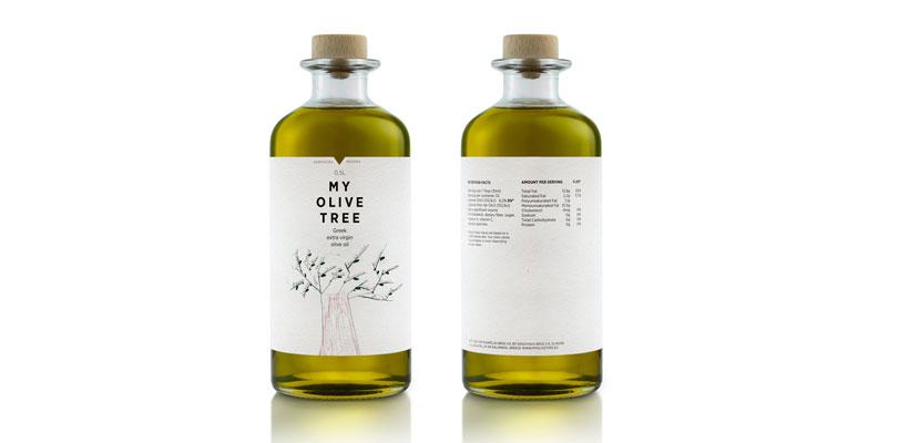Packaging Olio di oliva