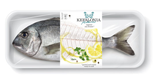 Packaging alimentare – Pesce fresco