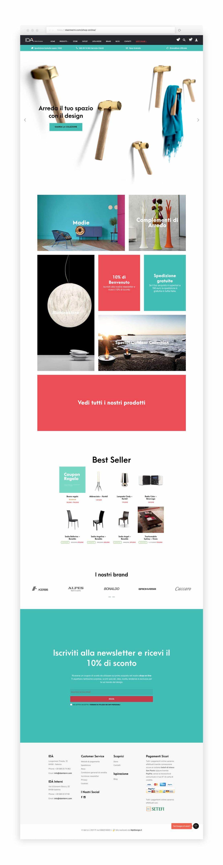E commerce arredamento id mpt design grafica e web agency for E commerce arredamento